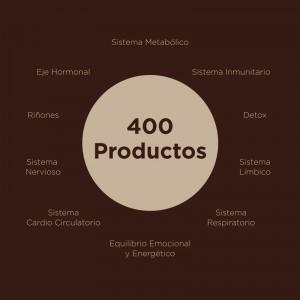 400 productos